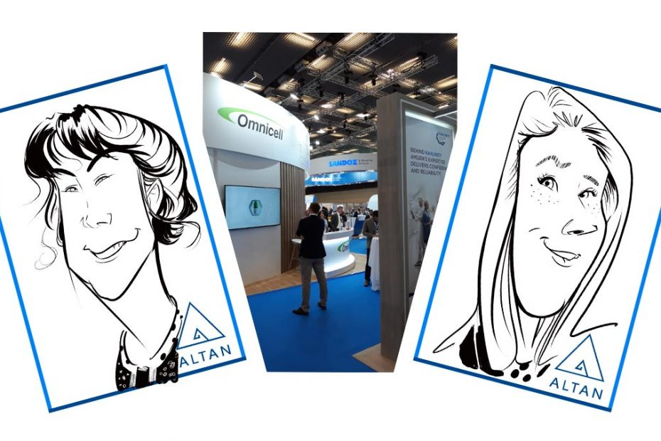 caricaturas stand altan
