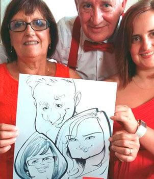 caricaturas bodas